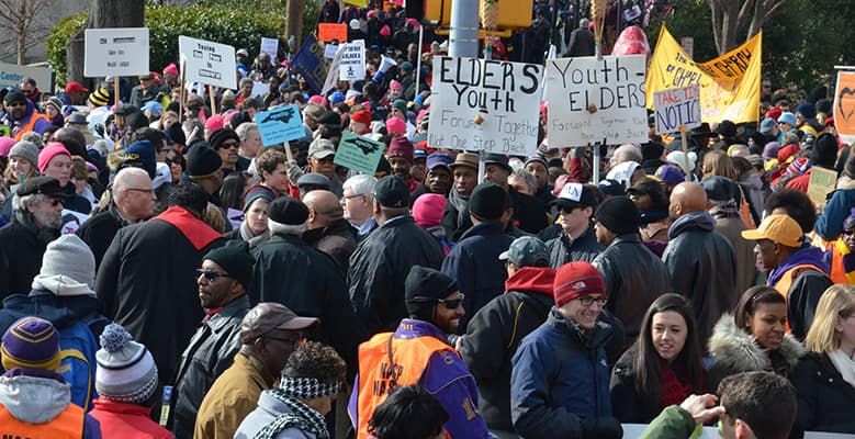 Moral March in Raleigh, 2015