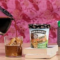 Get Buzzing With The Non-Dairy Coffee Caramel Fudge All-Nighter Affogato