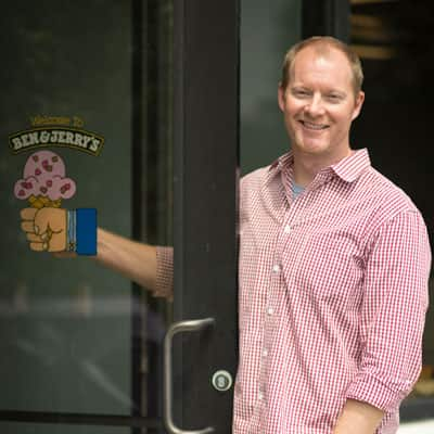 A Picture of Ed Peistrup, Associate Brand Manager-Scoop Shop Innovation