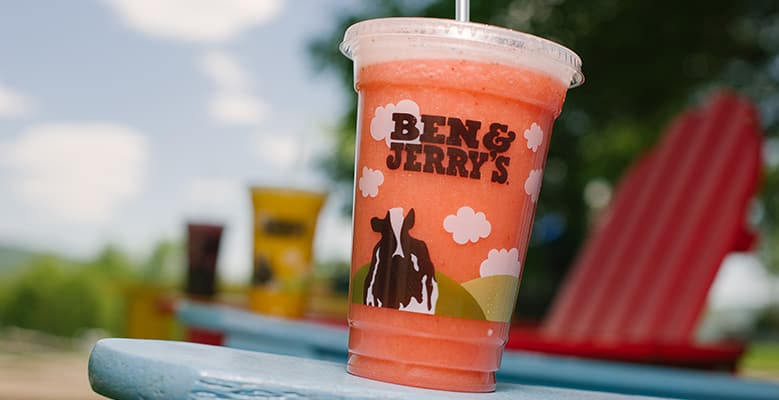 Ben & Jerry's - Queen of Tarts Smoothie