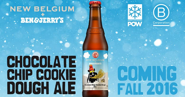 New Belgium Brewing new Ben & Jerry's beer