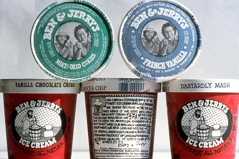 how ben and jerrys started How the chilled-out ice cream kings started in a small vermont gas station  if  you've ever wondered why ben & jerry's ditched bagels in 1978,.