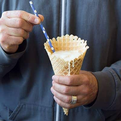 Crazy Ways To Eat A Waffle Cone Ben Jerrys - Ice cream knows how you feel