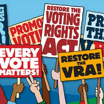 Restore voting rights act