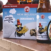 Ben & Jerry's and New Belgium Team Up on a New Beer