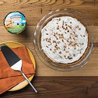 Recipe: Pumpkin Cheesecake Ice Cream Pie
