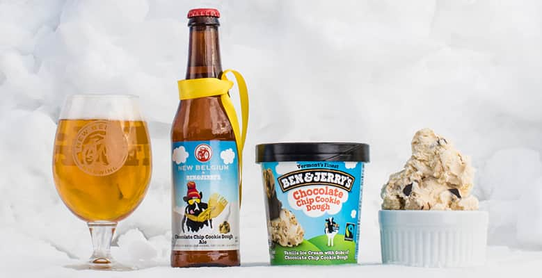 Ben & Jerry's and New Belgium Brewing collaboration beer, 2016
