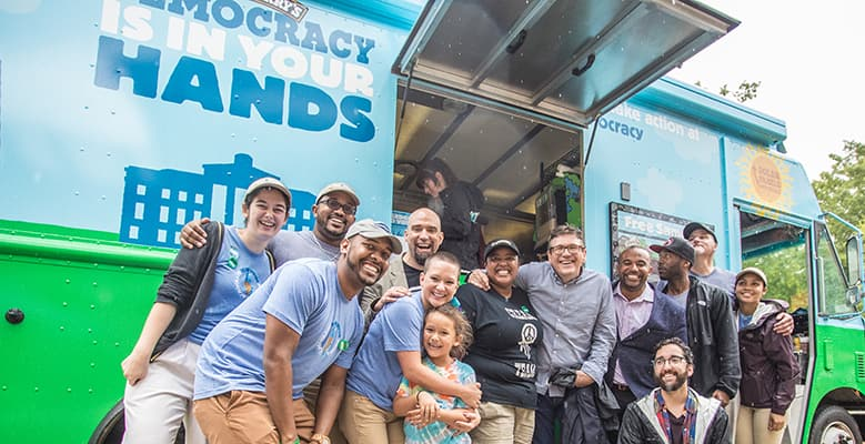 Democracy is in Your Hands, Ben & Jerry's