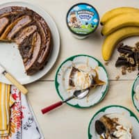 Recipe: Browned Butter Banana Upside Down Cake