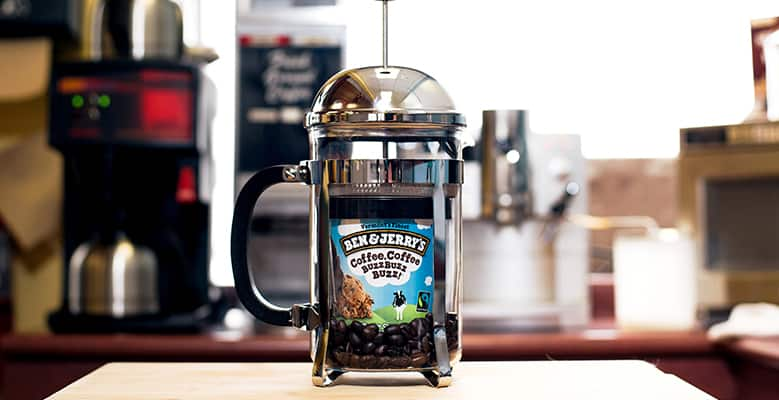coffee pot with Coffee Coffee BuzzBuzzBuzz in it
