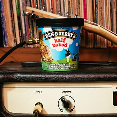 A pint of Half Baked