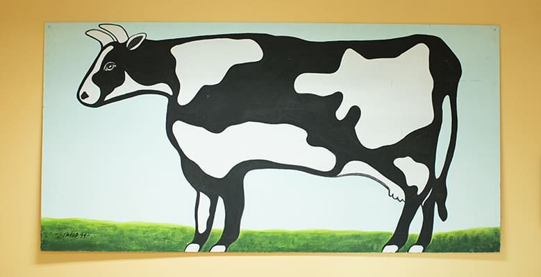 Poster of a Cow