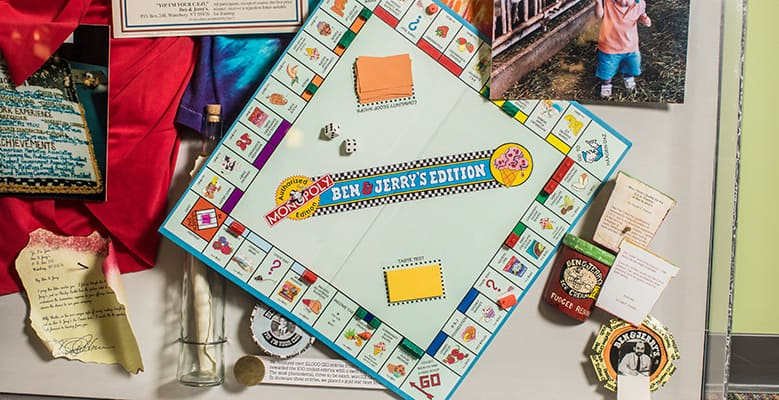 Ben & Jerry's monopoly game