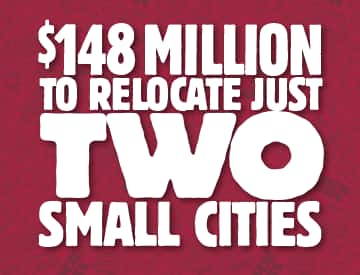 148-million-to-relocate 2 small cities