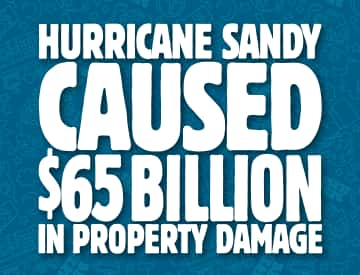 hurricane sandy caused 65 billion in damage