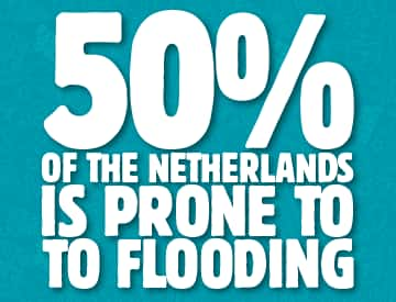 50% of Netherlands Prone to Flooding