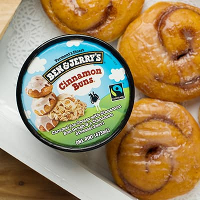 Ben & Jerry's Cinnamon Buns ice cream
