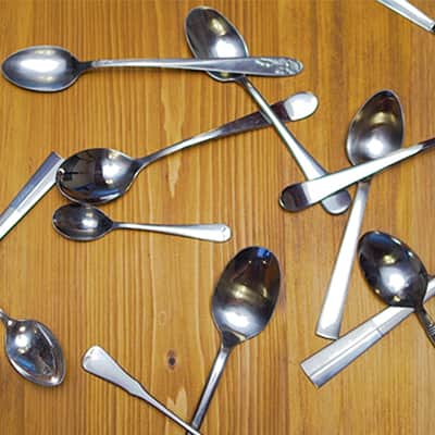 Spoons at Ben & Jerry's