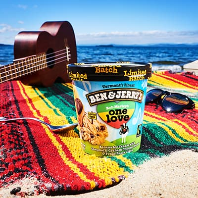A pint of Ben & Jerry's One Love