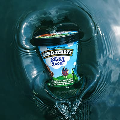 A pint of Ben & Jerry's Phish Food