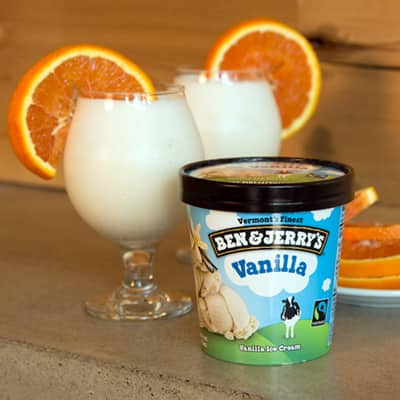 Orange Dream Beer Milkshake