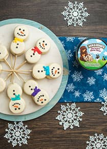 You Should Make: Ice Cream Snowmen-wiches!