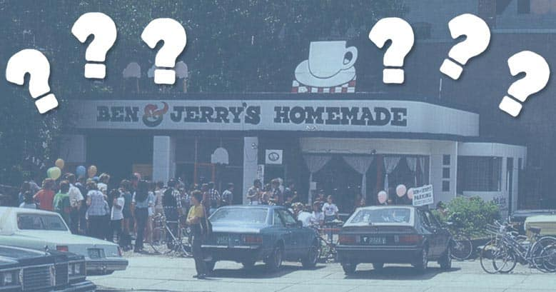 Ben & Jerry's gas-station Scoop Shop
