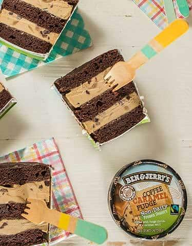 Vegan Layered Pint Cake!