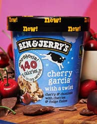 You Should Try: Cherry Garcia With A Twist Moo-phoria Light Ice Cream!