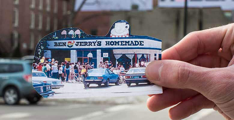 Ben & Jerry's original Scoop Shop