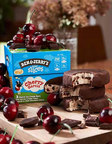 You Should Try: Cherry Garcia Pint Slices!
