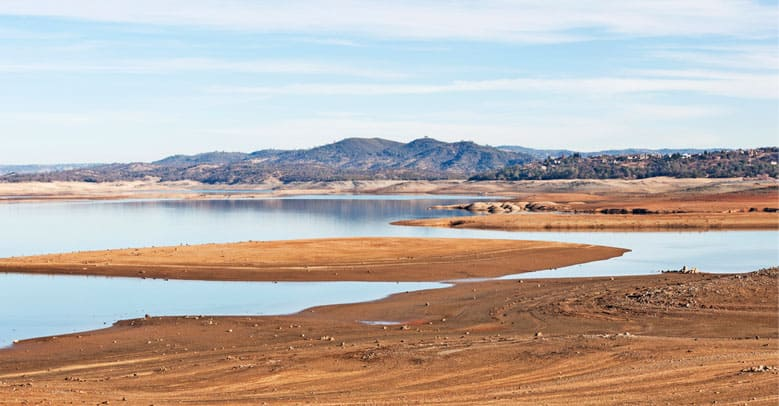 Folsom Lake Dried Up - Ben & Jerry's - Climate Change