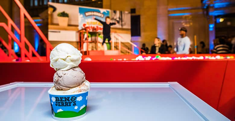 Cereal Splashback launch event, Ben & Jerry's
