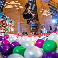This is What Happens When You Put A Giant Cereal Bowl In The Middle Of Grand Central Station