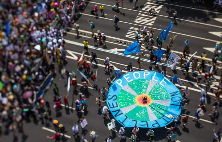 Peoples Climate March, Ben & Jerry's