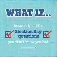 Answers to 10 Election Day Questions You Didn't Even Know You Had