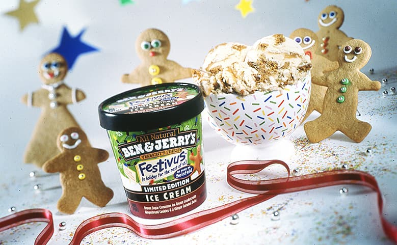 Ben & Jerry's Festivus ice cream flavor