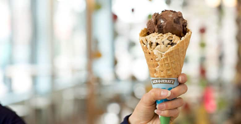 Ben & Jerry's: Coffee Coffee BuzzBuzzBuzz + Chocolate Fudge Brownie = 3:00 pm Wakeup Call