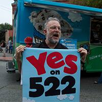 Hey Washington! Vote Yes on I-522