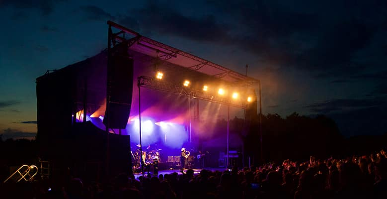 Nathaniel Rateliff & the Night Sweats at Shelburne Museum, 8/3/2017