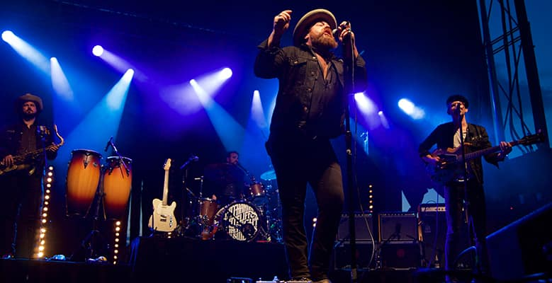 Nathaniel Rateliff & the Night Sweats at the Shelburne Museum, 8/3/2017