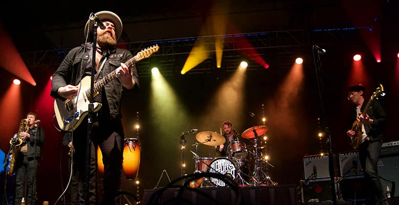 Nathaniel Rateliff & the Night Sweats, Shelburne Museum, 8/3/2017