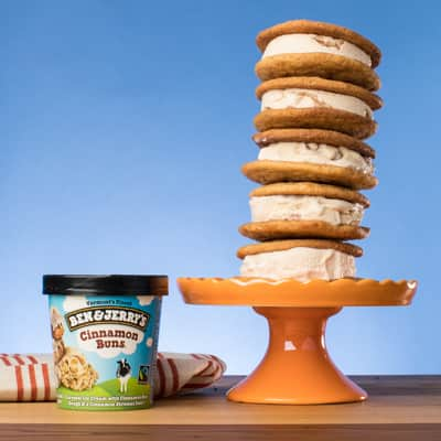 Ben & Jerry's Snickerdoodle Ice Cream Sammies recipe