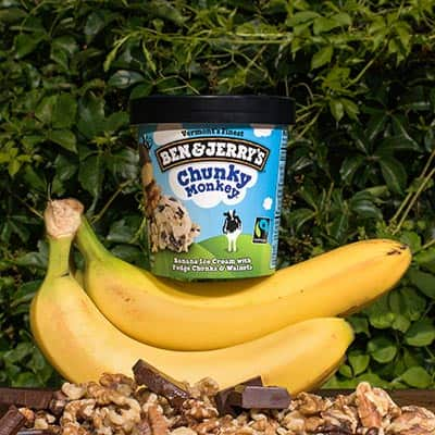 Ben & Jerry's Chunky Monkey pint