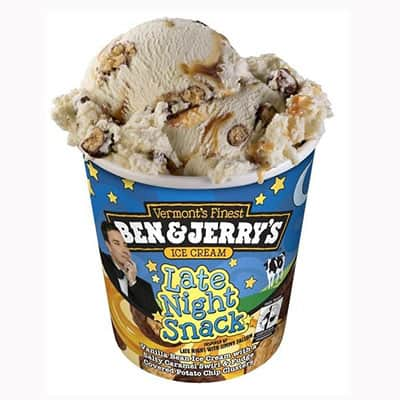 Pint of Ben & Jerry's Late Night Snack ice cream