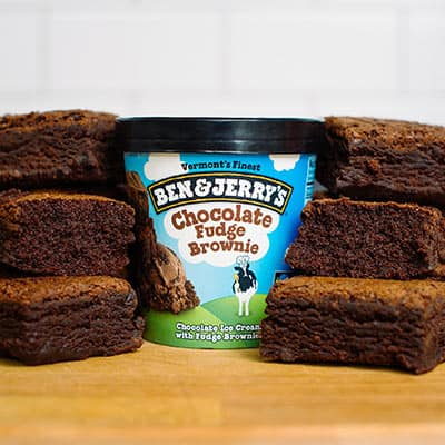 Ben & Jerry's Chocolate Fudge Brownie ice cream