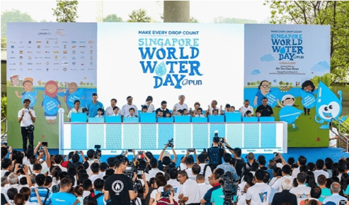 singapore world water day poster