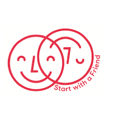 Start with A Friend campaign logo