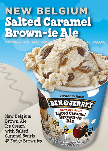 Salted Caramel Brown-ie Ale Ice Cream | Ben & Jerry's