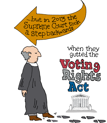 Supreme Court Gutted the Voting Rights Act